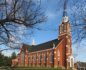 Saints Peter and Paul was built in 1895 and has been restored to its original glory.