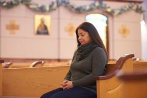 It took Jessica Ferrer years to realize the hole in her life was from keeping her faith at a distance. But after being welcomed into the Church at St. Mary Parish in Altoona and filling that emptiness with the Eucharist, she feels at home and whole again.