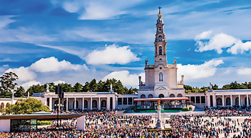 May 13th Celebration Mary Fatima Portugal