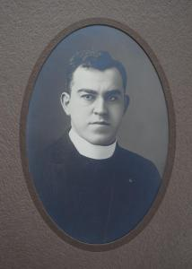 Fr. Stehling, first pastor