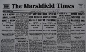 Marshfield Times Headline