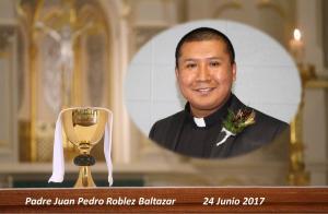 Memorial Picture Father Juan Pedro