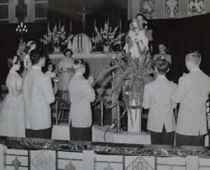 SH May Crowning- Jesus 1948